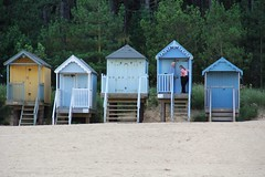 Beach Huts - Wells-next-the-sea (Gareth Wonfor (TempusVolat)) Tags: gareth mrmorodo tempusvolat tempus volat canon eos 60d canoneos dslr digital slr beach hut beachhut shack shed wells wellsnextthesea wellsnexttosea next sea flickr getty interesting image picture gw eos60d canoneos60d camera digitalslr canon60d holkham wellnextthesea norfolk coast seaside sand strand geotagged garethwonfor mr morodo wonfor