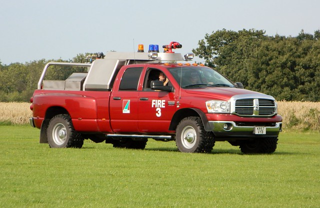 airport 4x4 firetruck dodge ram 3500 sywell