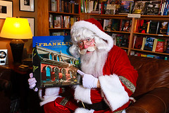"Santa loves books! • <a style=""font-size:0.8em;"" href=""http://www.flickr.com/photos/45310985@N02/7953165246/"" target=""_blank"">View on Flickr</a>"