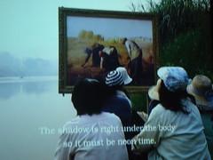 Noticing Shadows (toranosuke) Tags: geotagged contemporaryart millet waltersartmuseum thegleaners arayarasdjarmrearnsook geo:lat=39296517 geo:lon=7661645 thetwoplanets