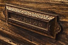 Y el cartero? (Jorge Ortiz J) Tags: door wood old texture textura lines yellow metal puerta madera steel guatemala letters perspective vieja perspectiva cartas viejo letras acero calido laantigua jorgeortiz calid