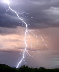Swan Song? (Greg R Campbell) Tags: arizona storm weather clouds canon 350d rebel xt twilight desert tucson september monsoon thunderstorm lightning thunder saguaronationalpark electricalstorm
