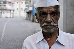 Mumbai, India (Colin Roohan) Tags: portrait urban india man nikon bombay mumbai 2012 sugarcane d90