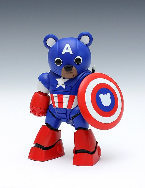 Bearvengers Series no.2 CAPTAIN-BEAR 熊隊長