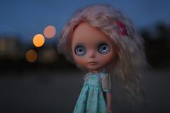Last rays of light (jessi.bryan) Tags: trip vacation beach oregon doll oregoncoast blythe gbaby customblythe mohairblythe bandonbeach wingsinflight gbabycustom