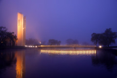 Foggy Dawn (tco1961) Tags: lake australia national canberra carillion griffin burley 2012 tco1961