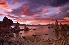 Mono Lake Symphony (David Shield Photography) Tags: california longexposure sunset sky lake storm color clouds landscape nikon monolake easternsierras southtufa singhray davidshield bestcapturesaoi elitegalleryaoi