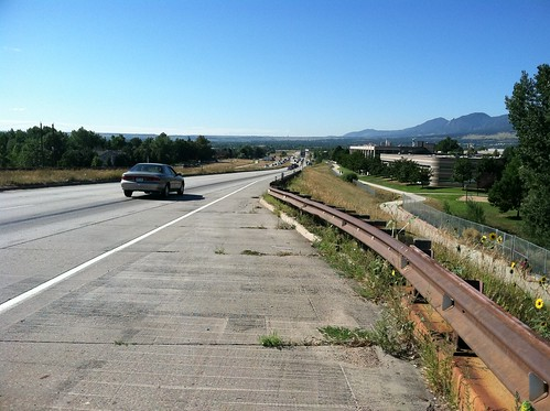 Photo - Foothills Parkway Operational Improvements Project (Before)