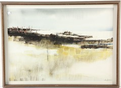 73. Mid-Century Watercolor