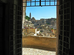 "Una finestra sui ""Sassi di Matera"" - A window on the ""Sassi of Matera"" (MaOrI1563) Tags: basilicata finestra agosto 1001nights matera sassi puglia 2012 sassidimatera patrimoniomondialeunesco"