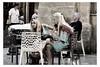 Mercedes Scandinaves (Gabi Monnier) Tags: street france bar automne canon vacances flickr blondes terrasse aixenprovence jour provence été rue filles gens belles traitement provencealpescôtedazur mercédes extérieur photosàlasauvette canoneos600d gabimonnier