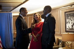 Beyoncé, Jay-Z, and President Obama in New York