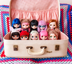 A suitcase of Blythes
