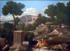 Poussin, Landscape with Saint John on Patmos
