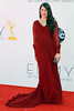 Mayim Bialik 64th Annual Primetime Emmy Awards, held at Nokia Theatre L.A. Live - Arrivals Los Angeles, California