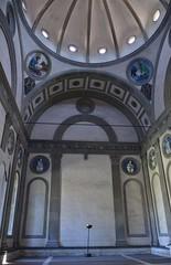 Capella dei Pazzi, Brunelleschi, 1442-46, interior, Santa Croce (5) (Prof. Mortel) Tags: italy florence brunelleschi santacroce pazzichapelcappelladeipazzi
