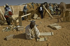 Darfurians refugees in Eastern Chad (EU Civil Protection and Humanitarian Aid Operation) Tags: africa chad bahai sudaneserefugees tradesandskills ennediregion