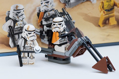 You know if we turned our heads we could probably find those droids. (Andrew D2010) Tags: storm starwars lego box stormtroopers troopers r2d2 escapepod studs c3po minifigures speederbike swoopbike sandtroopers 9490 droidescape imperialsandtroopers c3poc3po droidwreckage
