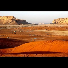 (BinD5ayel) Tags: canon square desert saudi 70300mm        60d        iphoneography