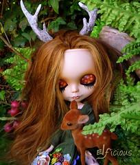 """Custom Blythe """"Little Deer"""""""