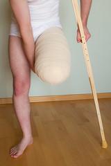 20120922-210 (dimka.drugoy) Tags: stump crutches bandage amputee pretending biid