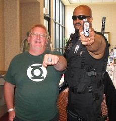 Green Lantern with Black Lantern Power Ring (MorpheusBlade) Tags: tattoo costume cosplay muscle bald superhero greenlantern comicon tactical daywalker bladetheseries bladehouseofchthon blacklantern bladethevampireslayer bladethevampirekiller bladethevampirehunter 2012hersheycomiccon 2012hersheycomicon hersheycomiccon hersheycomicon