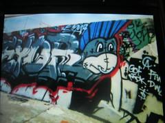 007 (TheRealEyor22) Tags: arizona phoenix yard graffiti los montana paint pieces angeles spray illegal oc hb dwc blackbook eyore throwies ftw gcf ironlak charecters