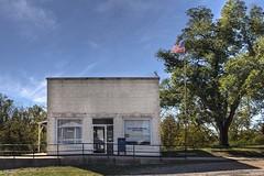 Patton Post Office (LarryHB) Tags: horizontal rural postoffice missouri hdr 2012