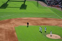 Tigers Brain Trust (ddcronkh) Tags: sports field sport mi canon baseball stadium michigan detroit tigers 5d