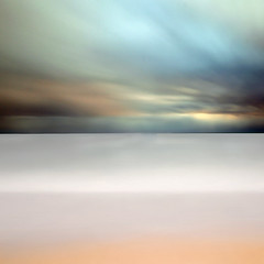A Glimpse of Eternity  ~ long exposure (fifich@t ~ very BUSY during the week . Sorry ;() Tags: ocean longexposure sunset sea france beach brittany infinity peaceful wave minimal le rothko remotecontrol minimalism eternity seashore atlanticocean carr finistre softcolours oceanatlantique squa