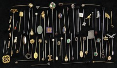 1000. Large Group of Antique Hatpins and Stickpins