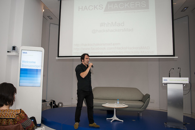 "Hacks & Hackers Madrid - 04/10/12 • <a style=""font-size:0.8em;"" href=""http://www.flickr.com/photos/32810496@N04/8056043649/"" target=""_blank"">View on Flickr</a>"