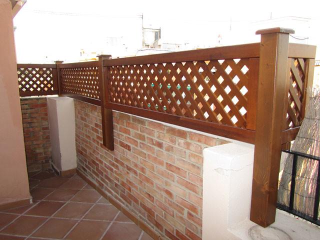 Celosias de madera para jardin awesome celosia de madera - Celosia de madera para jardin ...