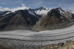 Grosser Aletschgletscher ( Gletscher / Glacier ) in der zur UNESCO-Weltnaturerbe erklrten Bergregion Jungfrau - Aletsch - Bietschhorn in den Alpen / Alps im Kanton Wallis / Valais in der Schweiz (chrchr_75) Tags: hurni christoph schweiz suisse switzerland svizzera suissa swiss chrchr chrchr75 chrigu chriguhurni 1210 oktober 2012 hurni121005 chriguhurnibluemailch kantonwallis kantonvalais wallis valais kanton grosser aletschgletscher grosseraletschgletscher gletscher albumgletscherglacier glacier jtikkvaellus   glaciar eis ice wasser water natur nature berge mountains alpen alps landschaft landscape schnee snow neige oktober2012 albumzzz201210oktober ghiacciaio gletsjer albumgletscherimkantonwallis