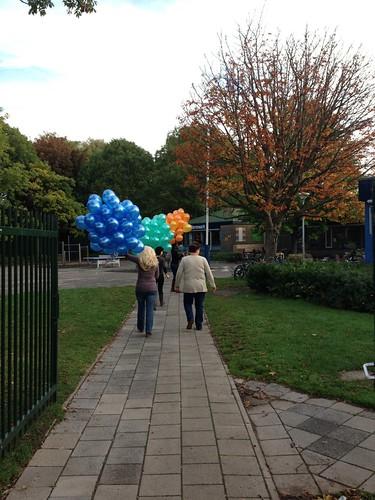 Heliumballonnen KBS De Sterrenwacht Hellevoetsluis