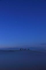 Shy (Stila_Rebel) Tags: blue church fog clouds sunrise alba hill tuscany cypress pienza toscana valdorcia humidity chiesetta orcia cipressi sanquirico canon1585mm canoneos600d rebelt3i kissx5