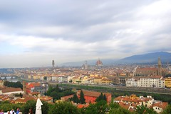 Florence in distance (SusanCK) Tags: street italy florence susancksphoto
