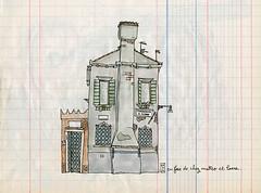 venezia (lapin barcelona) Tags: venice italy illustration sketch italia sketchbook venise venezia usk italie urbansketcher