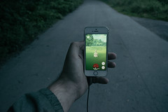 Catching Pokemons (Albin Kurtanovic) Tags: catching pokemons pokemon go outside move walk ride bike morning early no sleep