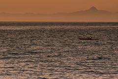 solitary (paolotrapella) Tags: mare acqua tramonto sunset water barca boat tamron 70300vc