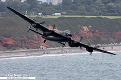 PA474 - Avro Lancaster B2 - RAF BBMF (KarlADrage) Tags: pa474 avro lancaster lancasterb2 avrolancaster bbmf raf rafbbmf battleofbritainmemorialflight royalairforce dawlishairshow warbird ww2 bomber worldwarii
