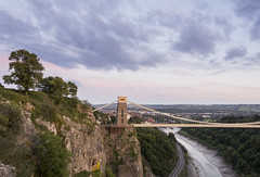 After the Balloons have Gone (CarolynEaton) Tags: bristol cliftonsuspensionbridge