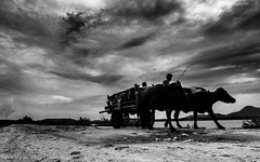 Locomotion (Sagarneel) Tags: baronti travel bengal black n white