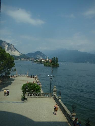 Isola Bella - Lake Maggiore - views from the Borromeo Palace - Isola dei Pescatori and Isola La Malghera
