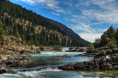 Kootenai Falls (TRUZYNA PHOTOGRAPHY) Tags: struzyna fotografia kaleidoscopio photography kootenai falls montana usa eeuu river ro cascadas cada de agua corriente stream rocks rocas montaas cerros hills pinos pine trees piedras stones nubes clouds wolkenn sky cielo himmel nature naturaleza hiking walk trail adventure canon 600d t3i summer vacations august