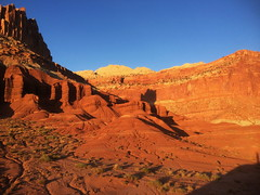 Shadow selfie (baro-nite) Tags: capitolreef iphone 5s affinityphoto