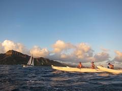 IMG_6848 (nautical2k) Tags: waikikibeachboys paddling outrigger canoe diamondhead honolulu oahu