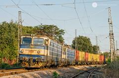 80622 Double (cossie*bossie) Tags: bdz 46 030 045 electroputere craiova 060ea asea le5100 burgas bulgaria freight train electric locomotive double containers bulgarian railways