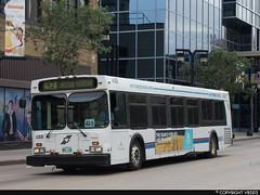 Winnipeg Transit #488 (vb5215's Transportation Gallery) Tags: winnipeg transit 1999 new flyer d40lf