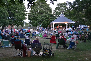 Waltham Concert on the Common - Aug 18, 2016